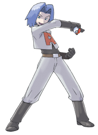 James of Team Rocket (